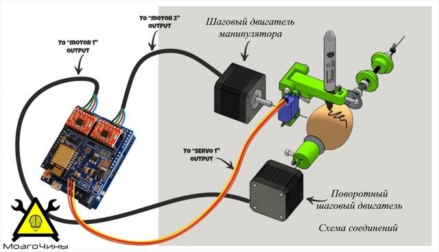 drawbot на arduino своими руками