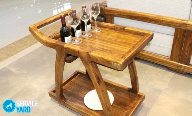 Винный столик своими руками