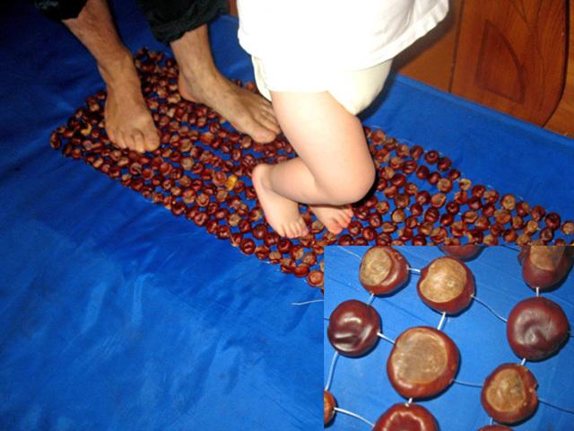 Массажер для ног из натурального ясеня своими руками