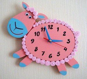 Часы своими руками из подручных материалов