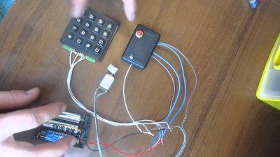 Кодовый замок из нержавейки и латуни на 100.000 комбинаций своими руками