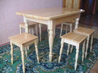 Шикарный обеденный стол своими руками