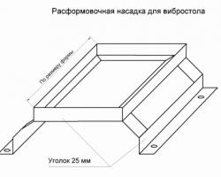 Как сделать мини-вибростол своими руками