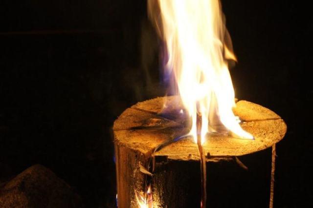 Приспособление для сборки финской свечи своими руками