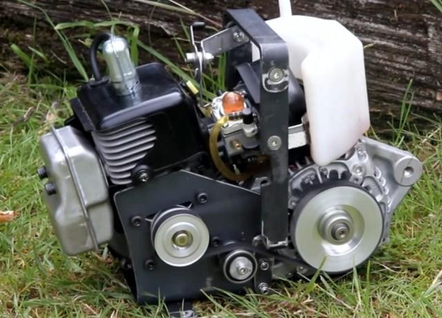 Ручной электрогенератор своими руками