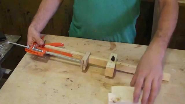 Длинная струбцина из шпилек своими руками