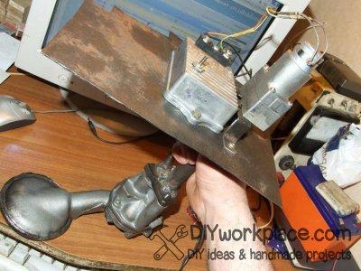 Горелка на отработанном масле своими руками