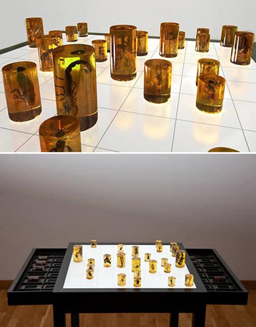 Миниатюрные шахматы своими руками