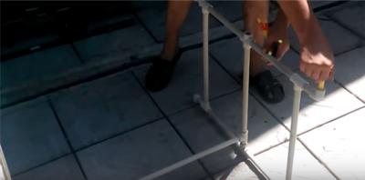 Сборно-разборная подставка для донок, удочек своими руками