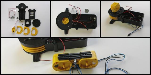 Робот аудиотроп своими руками