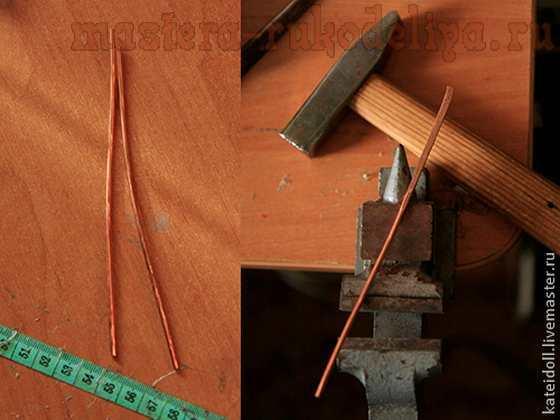 Как сделать браслет из медной трубки своими руками