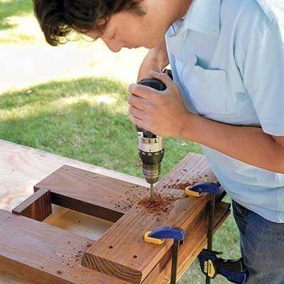 Как сделать скамейку вокруг дерева своими руками