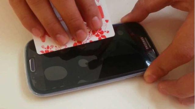 Пленка на телефон своими руками