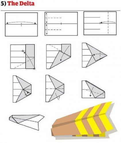 Самолет из бумаги своими руками