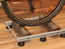 Велотренажер на базе велосипеда своими руками