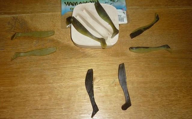 Как сделать виброхвост своими руками