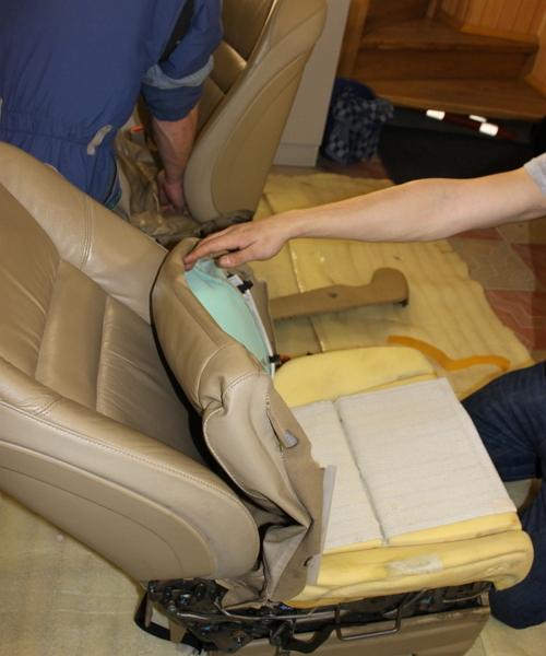 Как изменить технические характеристики сидений своими руками