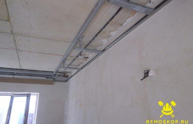 Двухуровневый потолок своими руками