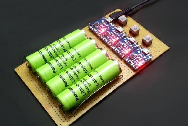 Зарядное устройство аккумуляторов 18650 своими руками
