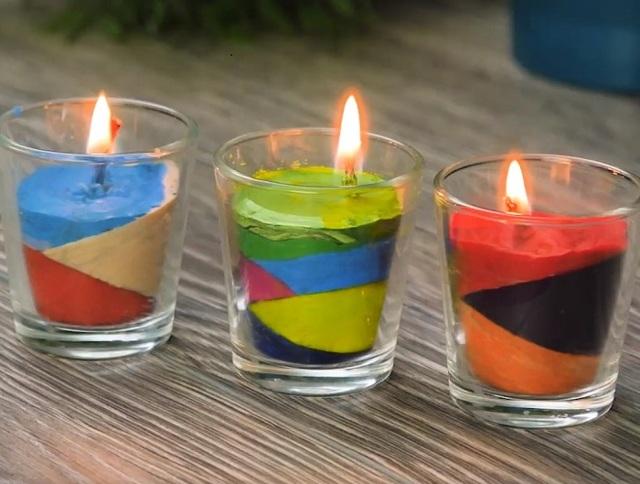 Парафиновая свеча своими руками