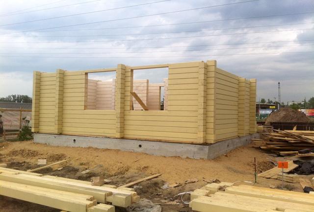 Строительство деревянного дома своими руками