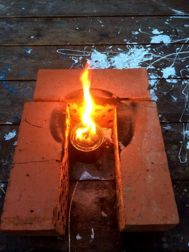 Свеча на естественной тяге своими руками