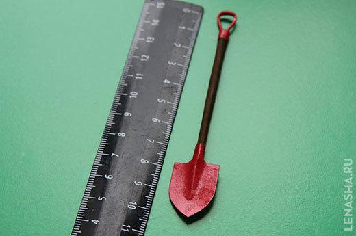 Маленькая кованая лопата своими руками