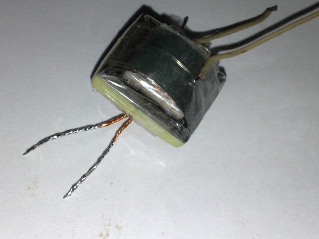 Простенький электрошокер своими руками