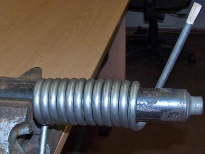 Охладитель своими руками из трубки и двух капельниц