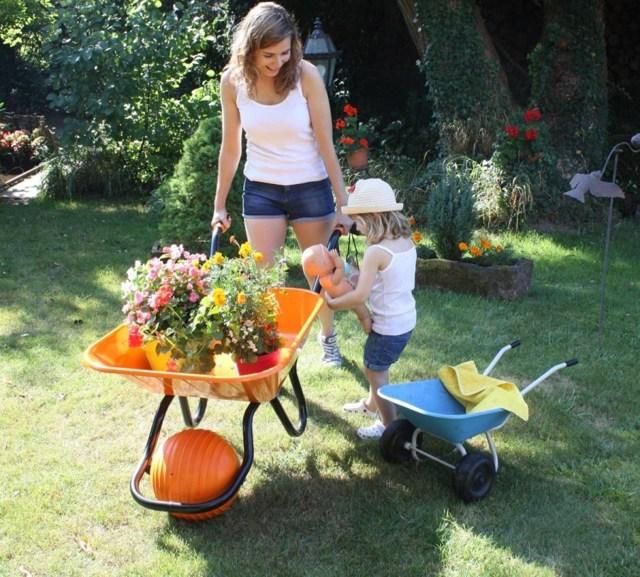 Садовая тележка своими руками