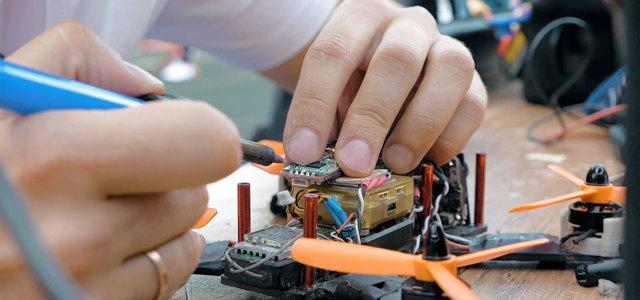 Как сделать микро квадрокоптер своими руками