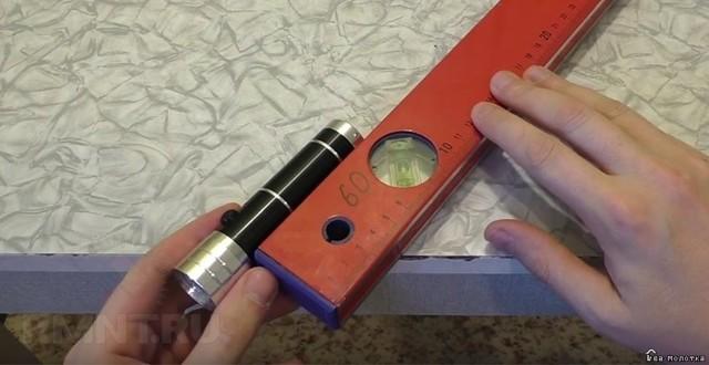 Оптоволоконная метка для лазерного уровня своими руками