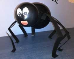 Светящийся паук своими руками