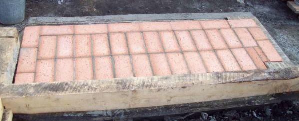 Кирпичный мангал своими руками
