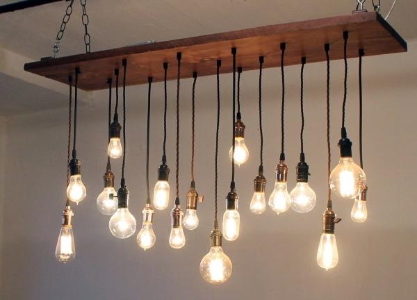 Простые автономные светильники в деревенском стиле своими руками