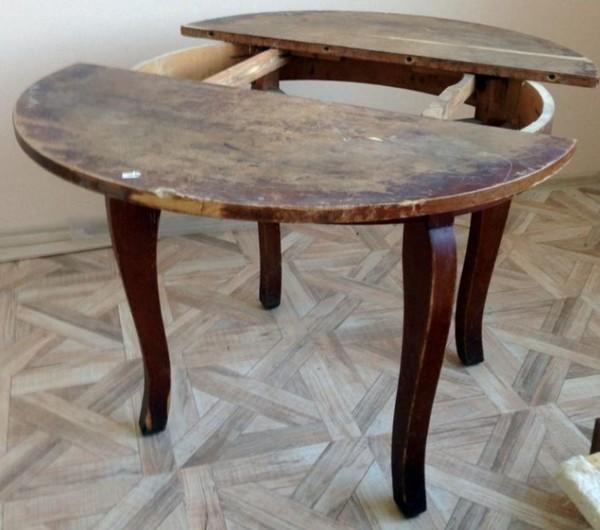Реставрация старого стола своими руками