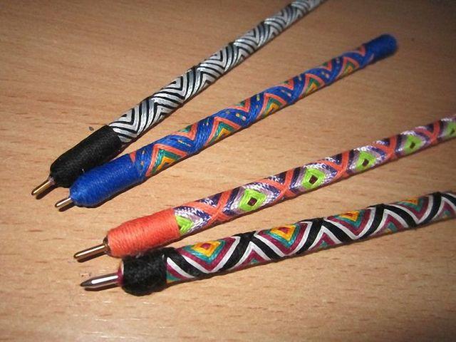 Эксклюзивная ручка своими руками