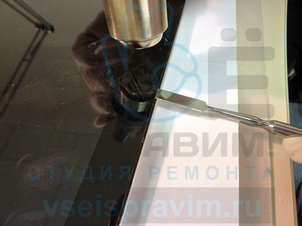 Самостоятельная замена стекла на ipad 3 своими руками