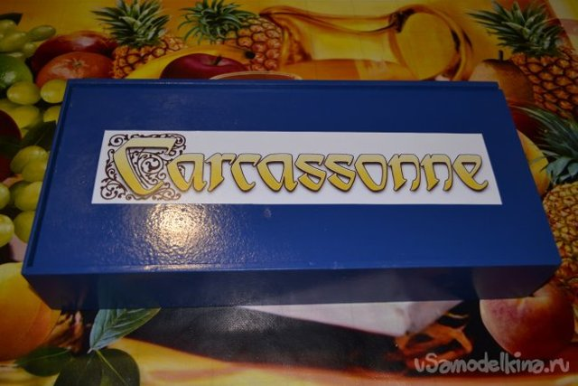 Настольная игра Каркассон своими руками