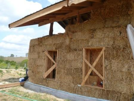 Дом из соломы своими руками