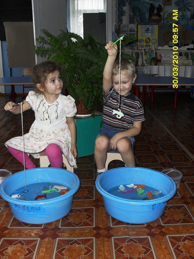 Настольная игра «Рыбалка» своими руками