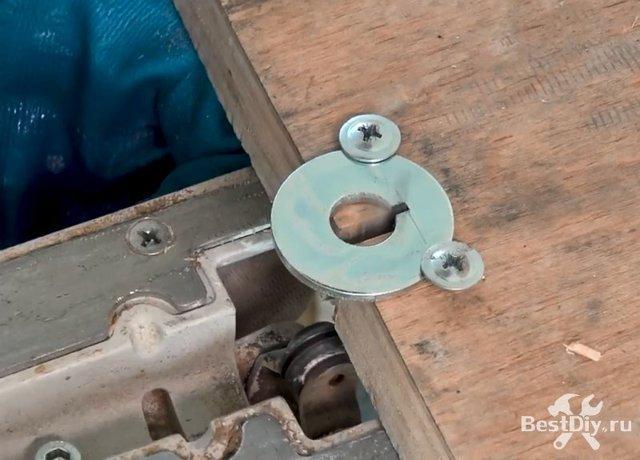 Универсальная рукоятка из анкера своими руками