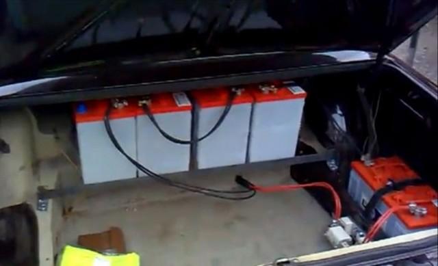 Машинка своими руками на аккумуляторе