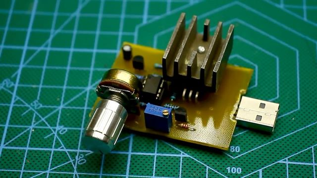 usb электронная нагрузка своими руками