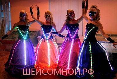 Изготавливаем своими руками светодиодный костюм