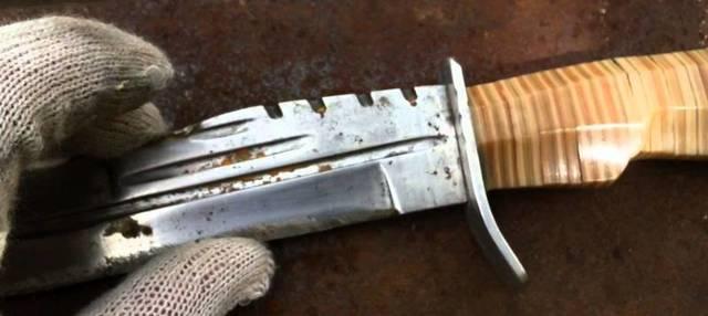 Маленький тактический нож своими руками
