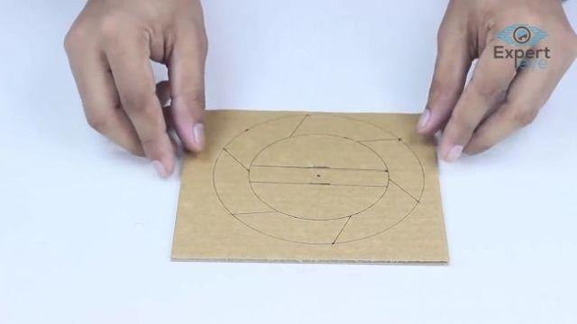 Как сделать кондиционер из гофрированного картона на ледяном охлаждении воздуха своими руками