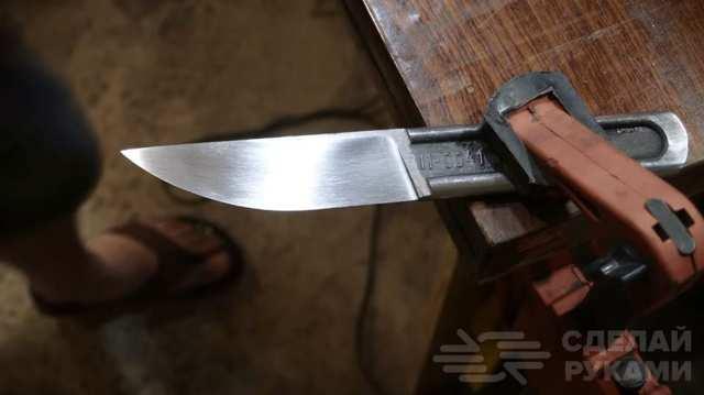 Нож из гаечного ключа своими руками