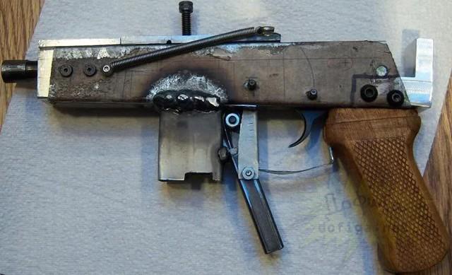 Шпоночный пистолет своими руками
