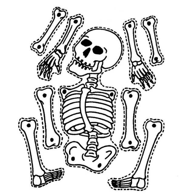 Нож «Скелет» своими руками
